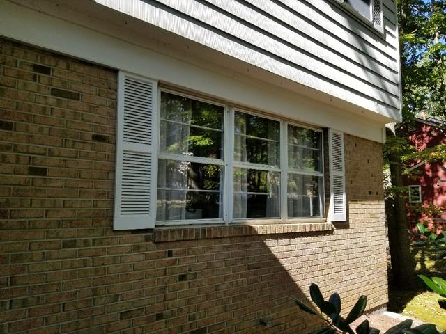 Custom-Made Marvin Infinity Double Hung and Picture Window with White Interior and Exterior Installed in Voorhees, NJ