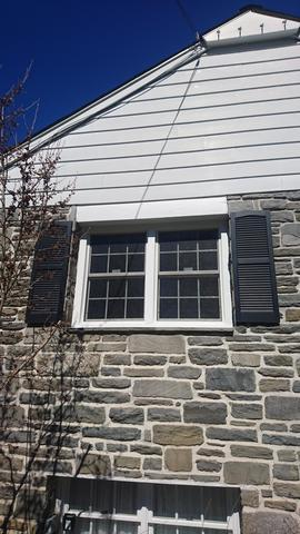 Replacing Old, Rotted Wood Windows with Marvin Infinity Replacement Windows in Villanova, PA