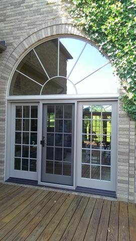 Replacing Wood Patio Door with Marvin French Door in Annandale, NJ