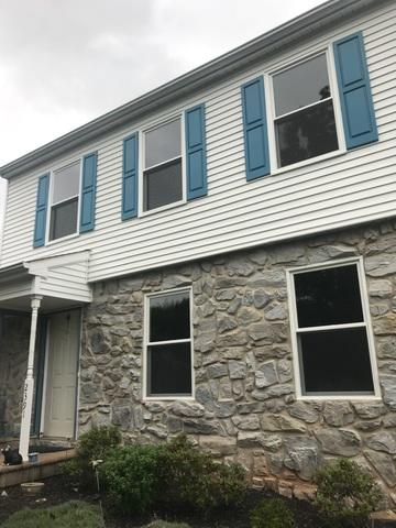 Replacing Old, Bulky Vinyl Windows with Sleek Marvin Infinity Fiberglass Windows in Warrington, PA