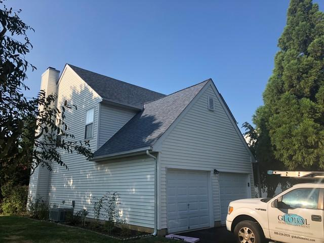 Replacing Leaky Shingles with Harbor Blue Owens Corning Duration Shingles in Philadelphia, PA
