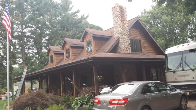 Replacing Shingle Roof with a Combination of Metal Slate and Standing Seam Metal in Jackson, NJ