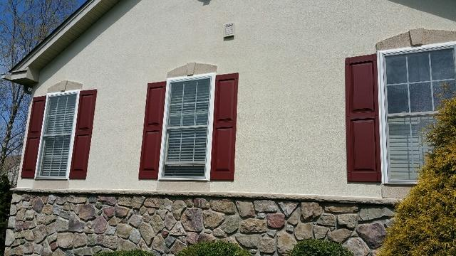 Replacing Vinyl Windows with Marvin Infinity Fiberglass Double Hungs in Souderton, PA