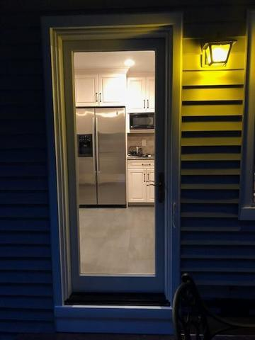 Energy Efficient Marvin Inswing French Door Installed New Providence, NJ