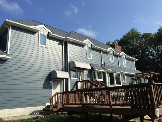 Hardie Planks and Owens Corning Shingles installation Glen Mills, PA
