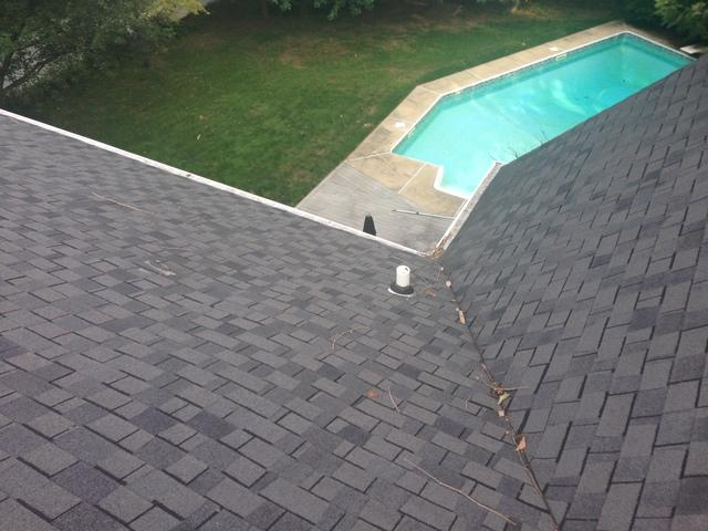 Replacing Asphalt Shingle Roof with Metal in West Chester, PA - Before Photo