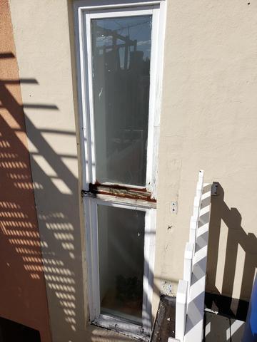 Marvin Fiberglass Windows in Philadelphia, PA - Before Photo
