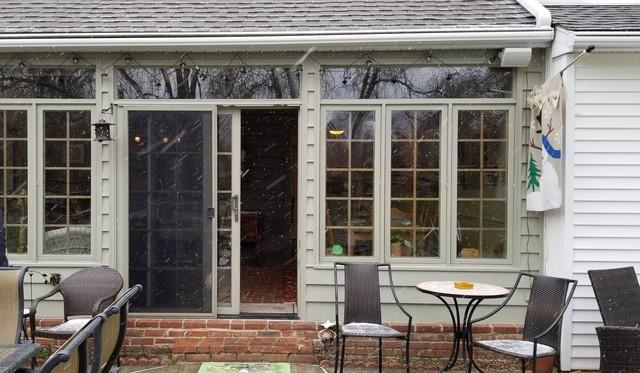 Fiberglass Picture, Installing Infinity Sliding Patio Door in West Chester, PA