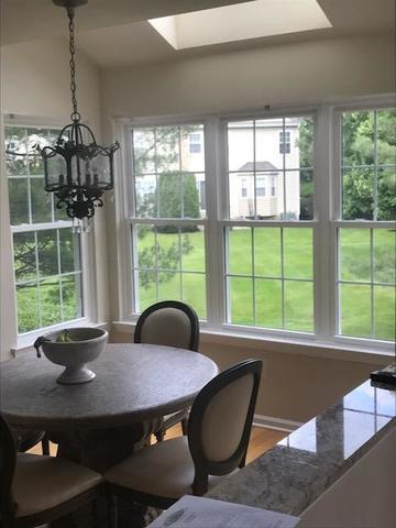 Replacing Vinyl with Custom-Made GlobalTech Vinyl Windows with Matched Grid Patterns in Moorestown, NJ