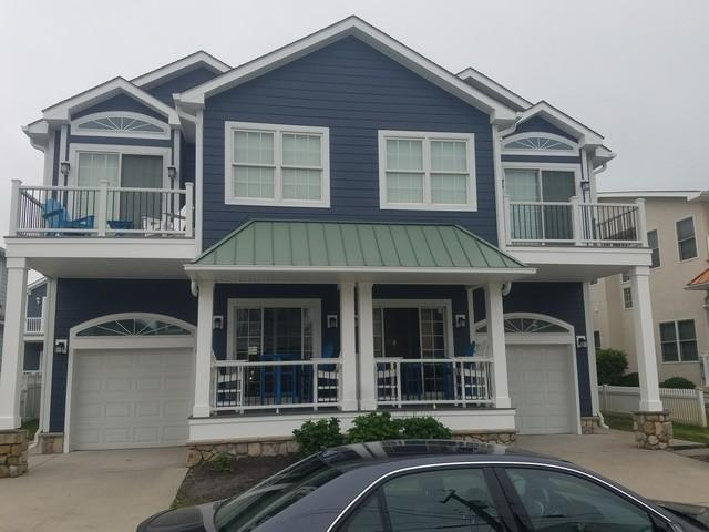 Replacing Beach Home's Moisture-Damaged Stucco with Durable, Long-Lasting Hardie Planks in Wildwood Crest, NJ - After Photo