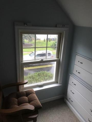 Replacing Wood Double Hung Windows with Marvin Infinity Fiberglass in Oradell, NJ