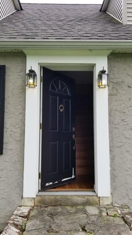 Replacing Existing Entry Door with ProVia Legacy Steel Door in Feasterville, PA