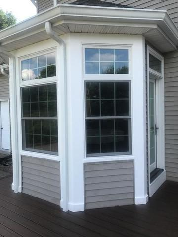 Replacing Old Windows with Marvin Infinity Double Hung and Picture Windows in Annandale, NJ