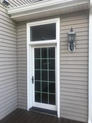 Replacing Old Patio Doors with Marvin Infinity Fiberglass Patio Doors in Annandale, NJ