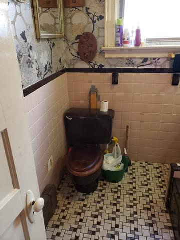 Replacing Bathroom's Tile Floor, Toilet, Sheetrock Walls, and Window in Philadelphia, PA