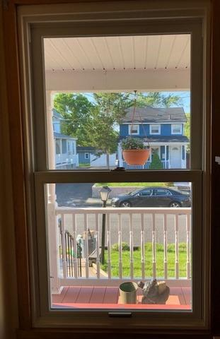 Replacing Old Vinyl Windows with Marvin Infinity Fiberglass Windows in Keyport, NJ