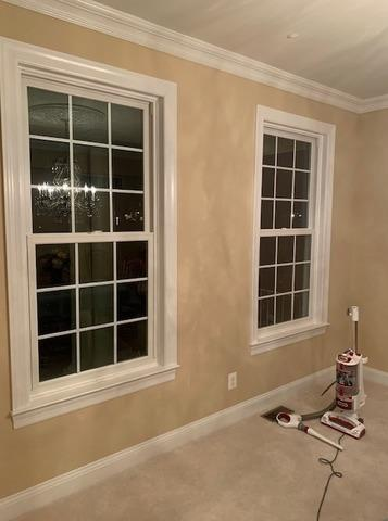 Replacing Old Vinyl Windows with Quality, long-lasting Marvin Infinity Double Hung Windows in Mickleton, NJ