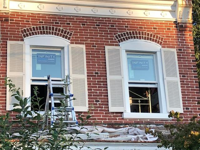 Replacing Vinyl Windows That Won't Shut Right with Marvin Infinity in Eagleville, PA