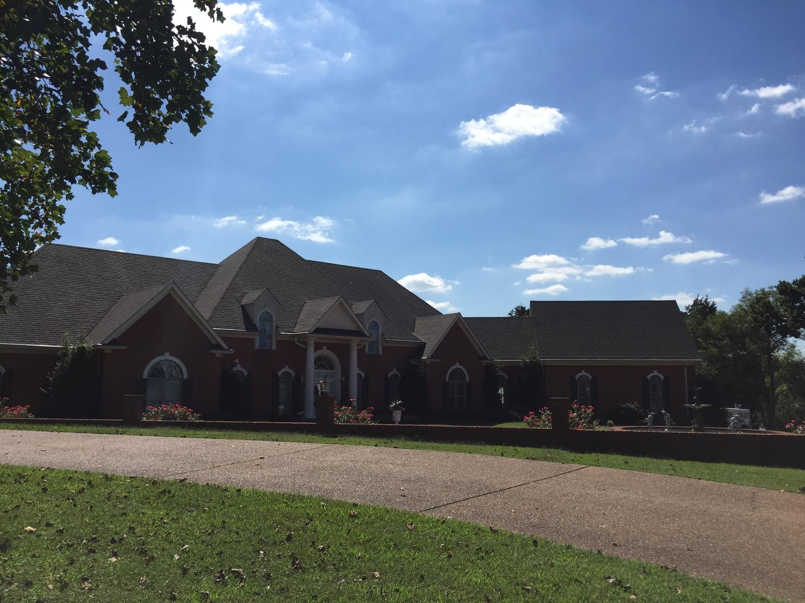 Hendersonville Hail Damage Roof Replacement - After Photo