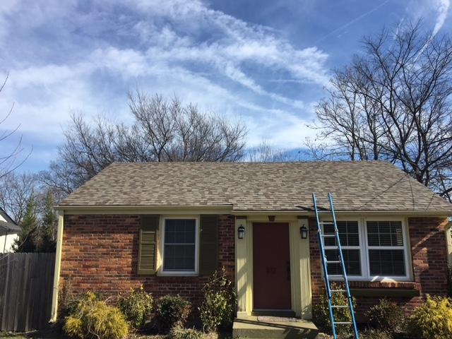 Nashville Wind Damaged Roof Replacement - After Photo
