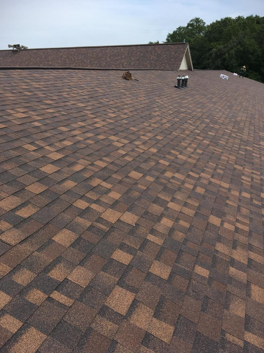Hail Damaged Roof Replacement in Ten Mile, TN - After Photo