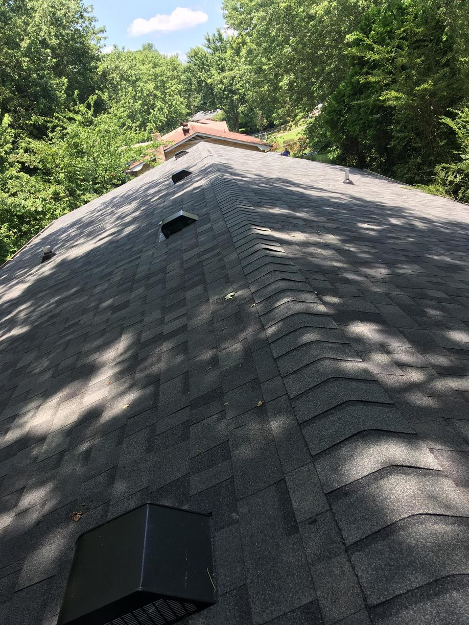 Clarksville Roof Replacement, Owens Corning, Estate Grey - After Photo