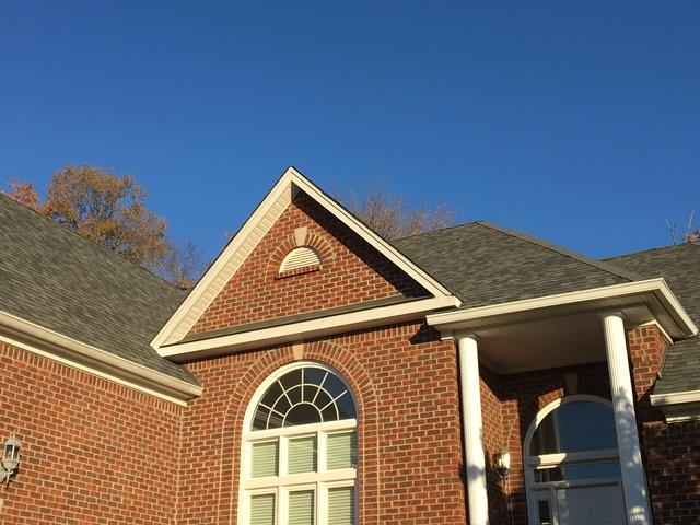 Roof Hail Damage in Hermitage, TN - After Photo