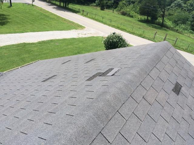 Lebanon Reroof,  Wind Insurance Claim, Owens Corning - Before Photo