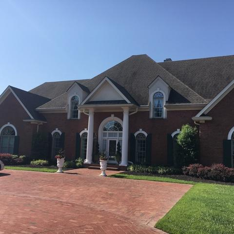 Hendersonville Hail Damage Roof Replacement - Before Photo
