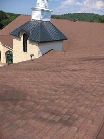 Hail Damaged Roof Replacement in Ten Mile, TN