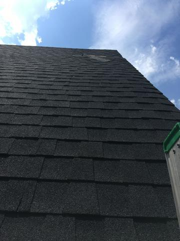 Springfield Roof Replacement, Owens Corning, Onyx Black - Before Photo