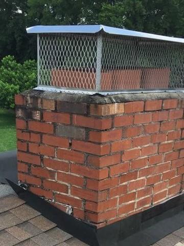 Gallatin Chimney Repair - After Photo