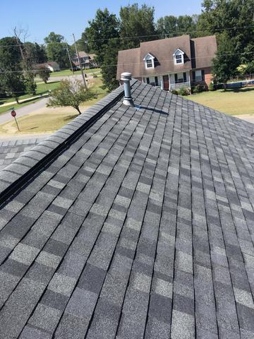 Owens Corning, Estate Grey, Roof Replacement, White House, TN