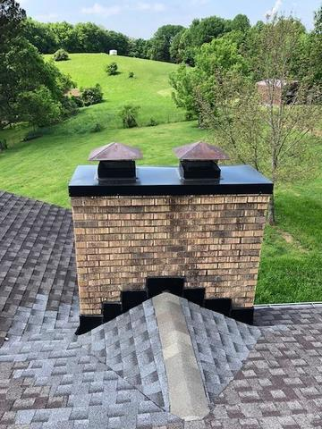 Chimney Cap and Flashing, Goodlettsville - After Photo