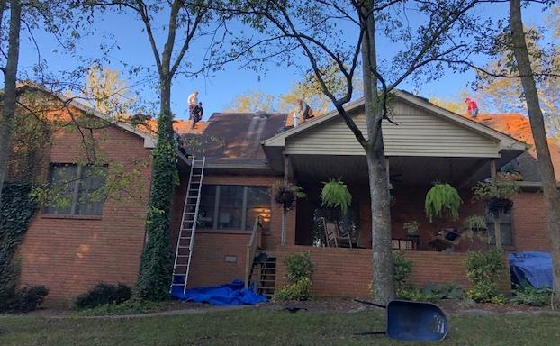 Woodland GAF, Hendersonville, Roof Replacement