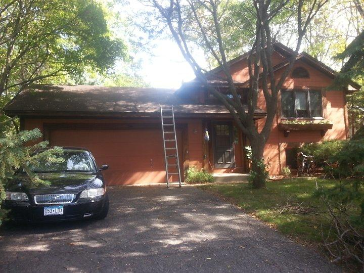 New Roof for Eden Prairie, MN Home - Before Photo