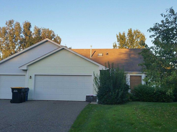 New Roof in Shakopee, MN - Before Photo