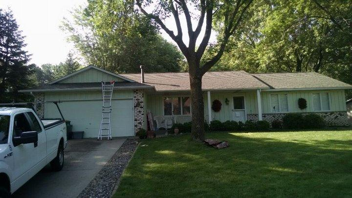 Post-Storm Roofing and Siding Restoration - After Photo