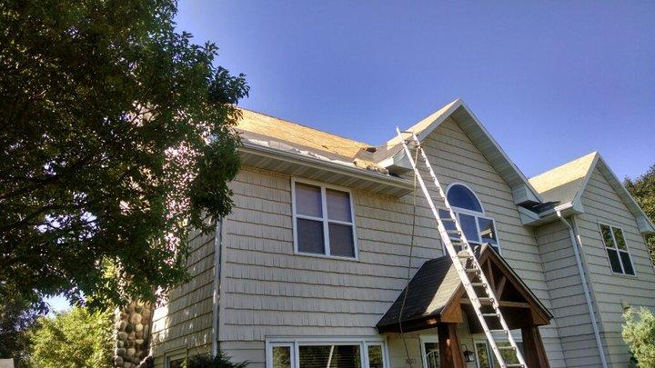 New Owens Corning Roof in Stillwater, MN - Before Photo