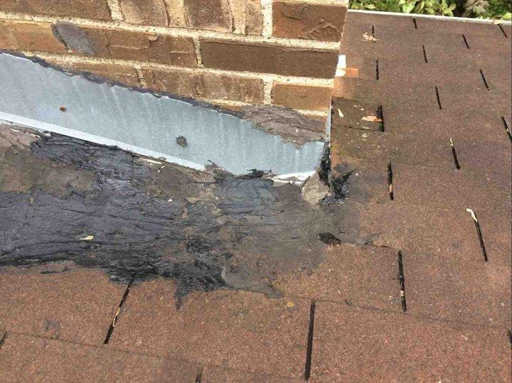 Apple Valley, MN Roof Repair - Before Photo