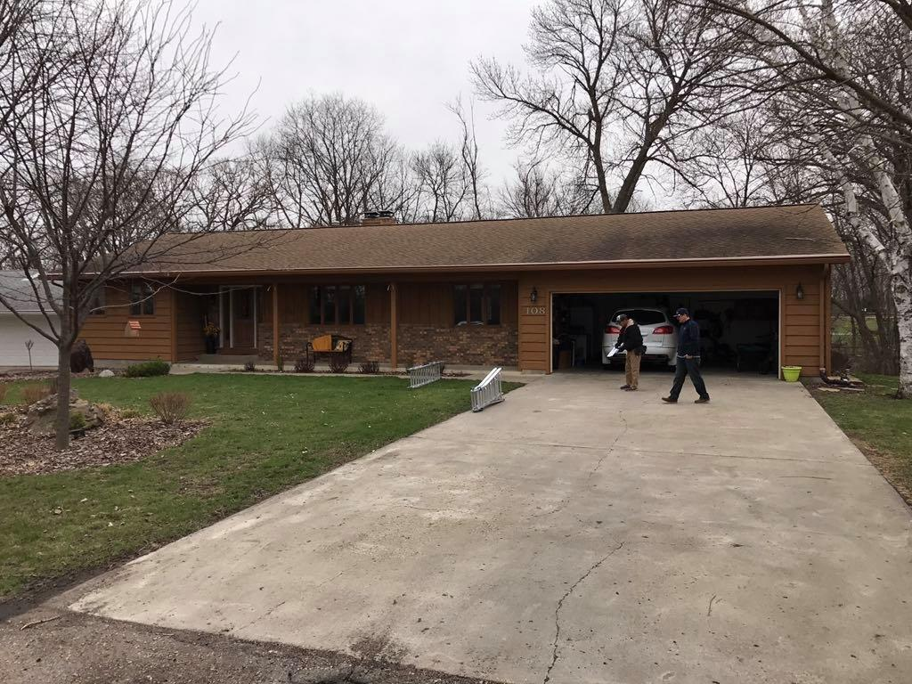 Redwood Falls Roofing Contractor - Before Photo
