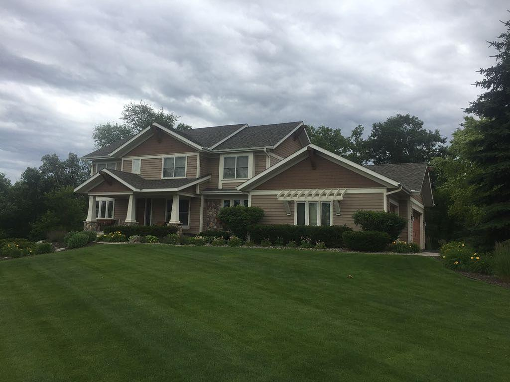 Storm Damage Roof Replacement in Inver Grove Heights - Before Photo