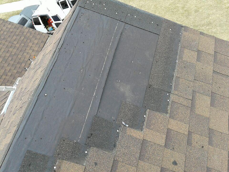 Cottage Grove, MN Roof Repair - Before Photo