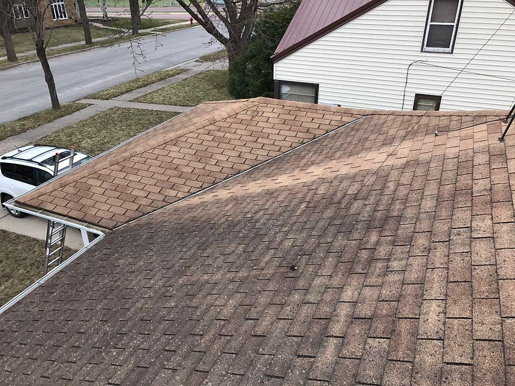 New Owens Corning Roof Installed - Before Photo