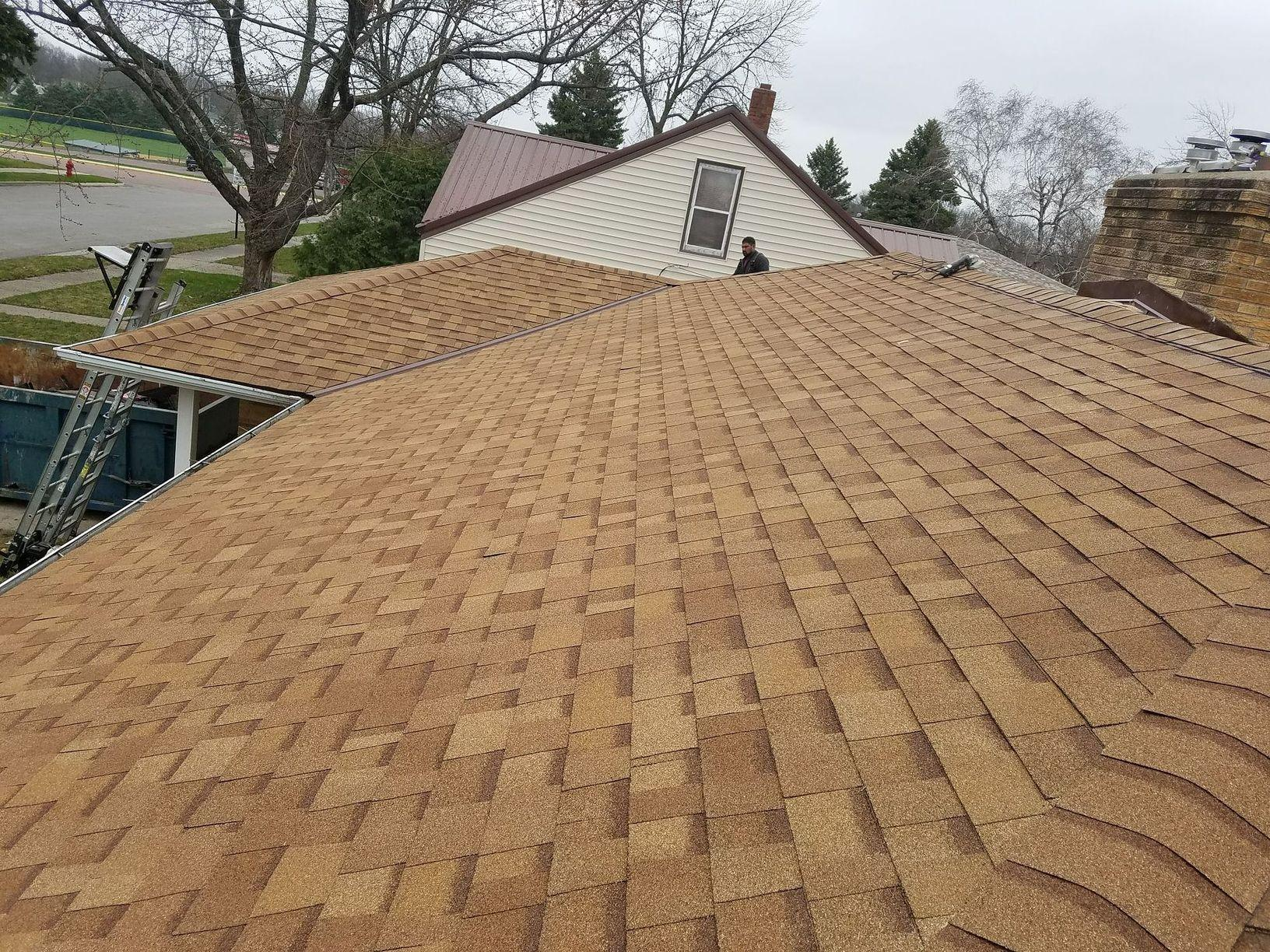 New Owens Corning Roof Installed - After Photo