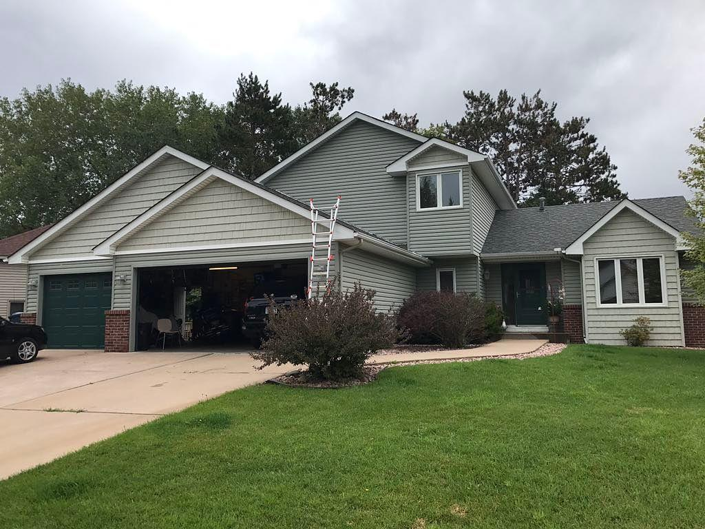 New Roof For Lino Lakes, Minn Home - Before Photo