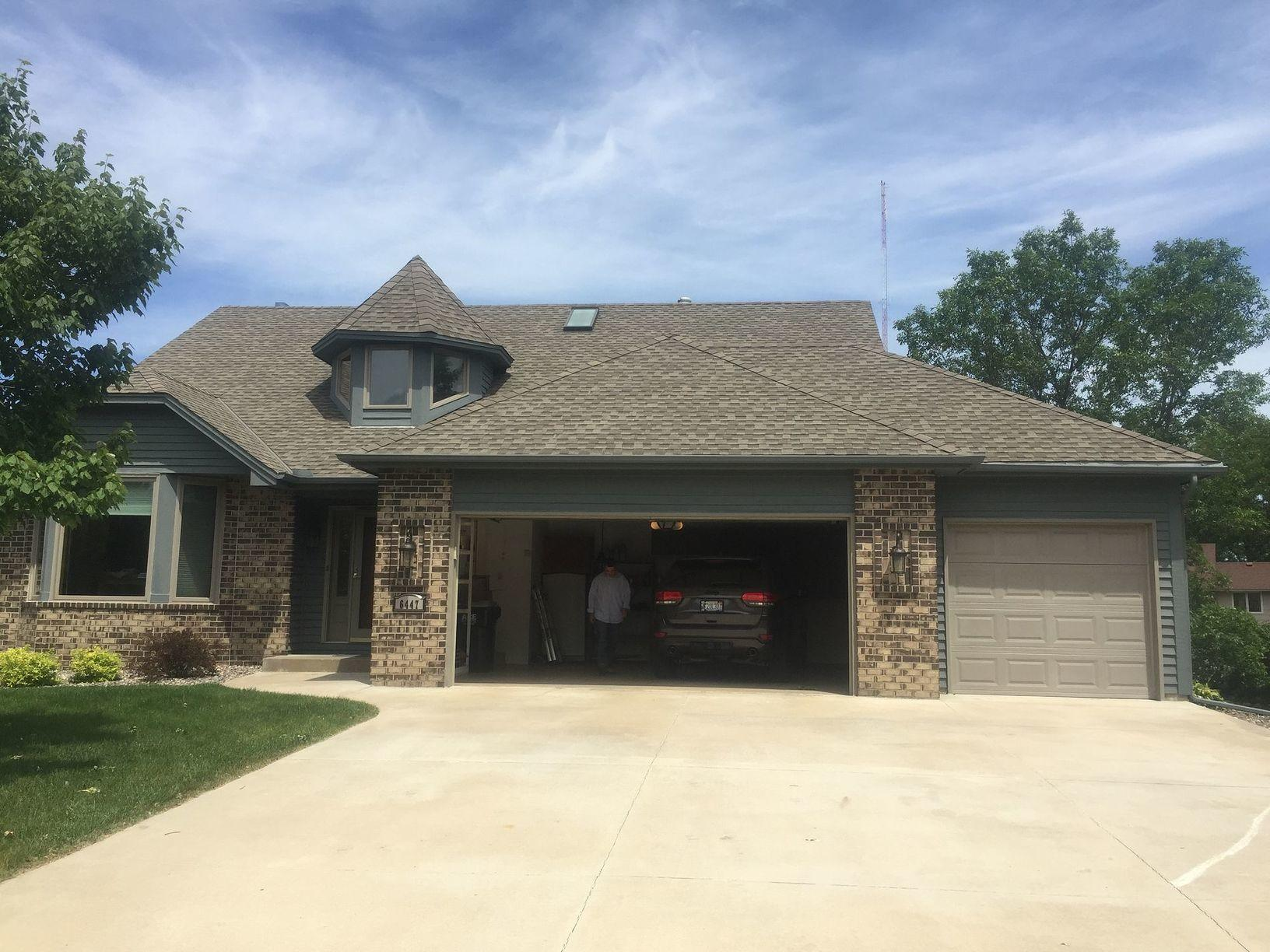 Lino Lakes Roofing Replacement | Storm Damage - Before Photo