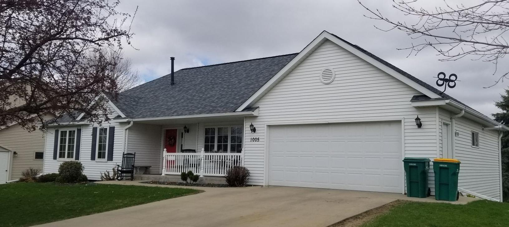 Roofing and Siding Replacement in Kasson, MN - Before Photo