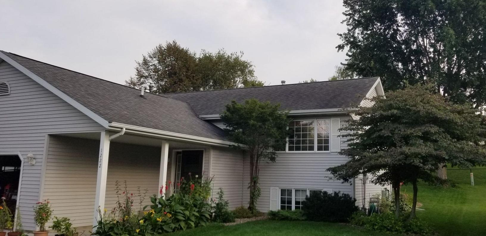 Hail Damage Roof Replacement in Rochester, MN - Before Photo