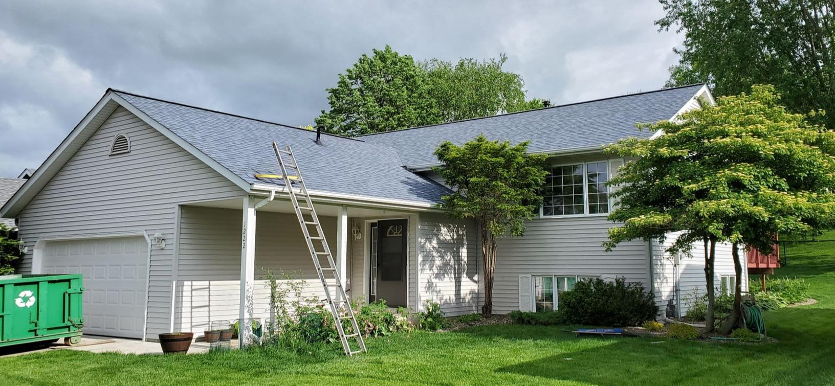 Hail Damage Roof Replacement in Rochester, MN - After Photo